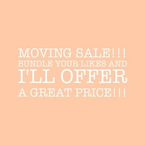 Bundle and SAVE!! MOVING IN TWO WEEKS